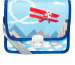 FUNKI Kindergarten-Tasche Airplane 6020.025 hellblau 265x200x700mm