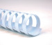 GBC Plastikbinderücken 12mm A4 4028197 weiss, 21 Ringe 100 Stück