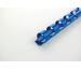 GBC Plastikbindrücken 6mm A4 4028233 blau, 21 Ringe 100 Stück