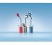 HANSA LED Leuchte LED Flower 415010683 3 Watt, taubenblau