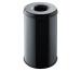 HELIT Papierkorb mit Löschkopf 30lt H2515695 schwarz, Metall 470mm