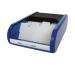 HELIT Visitenkartenbox H6218093 schwarz/blau 67x136x240mm