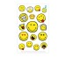 HERLITZ Sticker klein FSC 50001996 3 Bogen selbstklebend