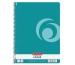 HERLITZ Spiralblock A4 50015702 Carribean Turqu. 80 Bl.kariert