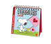 HEYE Postkartenkalender Peanuts 840170423 DE, 16,5x17,7cm, 2020