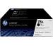 HP Toner-Modul 78A schwarz CE278AD LaserJet Pro P1566 2 Stück