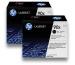 HP Toner-Modul 90X schwarz CE390XD LaserJet M4555 2 Stück