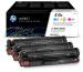 HP Toner Tri-Pack 410X CMY CF252XM CLJ Pro M452 5000 S.