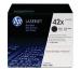 HP Toner-Modul 42X schwarz Q5942XD LaserJet 4250/4350 2 Stück