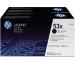 HP Toner-Modul 53X schwarz Q7553XD LaserJet P2015 2 Stück