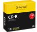 INTENSO CD-R Slim 80MIN/700MB 1001622 52X 10 Pcs