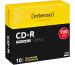 INTENSO CD-R Slim 80MIN/700MB 1801622 52x Printable 10 Pcs