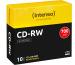 INTENSO CD-RW Slim 80MIN/700MB 2801622 12x 10 Pcs