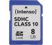 INTENSO SDHC Card Class 10 8GB 3411460