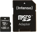 INTENSO Micro SDXC Card PREMIUM 128GB 3423491 with adapter, UHS-I