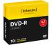 INTENSO DVD-R Slim 4.7GB 4101652 16X 10 Pcs