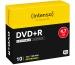 INTENSO DVD+R Slim 4.7GB 4811652 16x Printable 10 Pcs