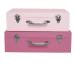 JABADABAD Koffer Set A3200 pink