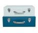 JABADABAD Koffer Set A3202 blau