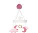 JABADABAD Musik Mobile Mond N0117 pink