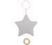 JABADABAD Spieluhr Stern N0121 grau 13x13cm
