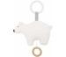 JABADABAD Spieluhr Polarbär N0122 weiss 10x16cm