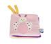 JABADABAD Softbuch Schmetterling N748 pink,rosa 10x10x4cm