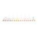 JABADABAD Kerzenzug T239 pastell