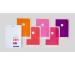 JULIFOLI Mono Trend 1 Hüllen A4 MT1SER001 multicolor 5 Stück