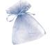 KNORR Organzasäckchen 13x10cm 6399576 blau