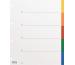KOLMA Register PP grau A4 18.407.20 5-teilig, multicolor