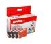 KORES Multipack Tinte CMYBK BCI-6VAL zu Canon i9100 4x16ml