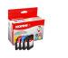 KORES Multipack Tinte CMYBK LC-1100VA zu Brother MFC-490 4x20ml