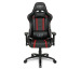 L33T Elite Gaming Chair V3 160478 PU black w/ red stitching