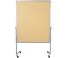 LEGAMASTE Moderationswand Premium 7-204100 120x150cm beige, Textil