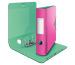LEITZ Qualitäts-Ordner 180° 8,2cm 11160022 pink met., Urban Chic A4