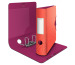 LEITZ Qualitäts-Ordner 180° 8,2cm 11160024 rot, Urban Chic A4