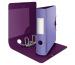 LEITZ Qualitäts-Ordner 180° 8,2cm 11160065 violett, Urban Chic A4