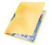 LEITZ Color Clip Rainbow A4 41760015 gelb