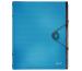 LEITZ Ordnungsmappe Solid PP A4 45691030 hellblau 6 Fächer