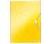 LEITZ Sammelmappe WOW A4 45990016 gelb für 150 Blatt