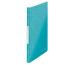 LEITZ Sichtbuch WOW PP A4 46320051 blau 40 Hüllen