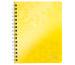LEITZ Spiralbuch WOW PP A5 46390016 gelb 80 Blatt