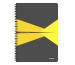 LEITZ Collegeblock Office Card A4 46470015 gelb kariert