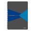 LEITZ Collegeblock Office Card A4 46470035 blau kariert