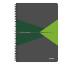 LEITZ Collegeblock Office Card A4 46470055 grün kariert