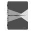 LEITZ Collegeblock Office Card A4 46480085 grau liniert