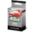 LEXMARK Tintenpatrone 43 HY color 18YX143E P350 550 Seiten