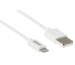 LINK2GO USB-A to Lightining Cable 1m SY1000FWB MFI