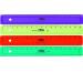 M+R Flachlineal 16cm 1116-0150 farbig ass.